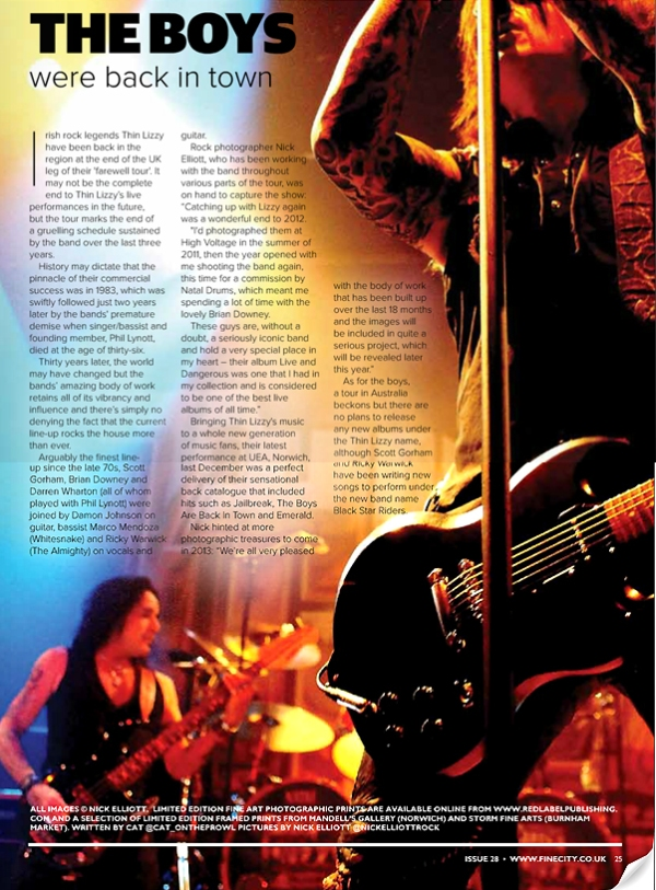 Fine City Magazine January 2013
