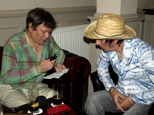 Nick with John
